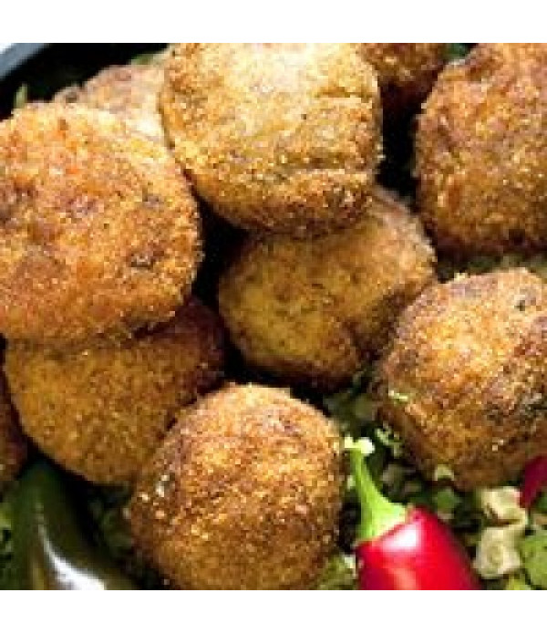 Comeaux's Boudin Balls Pork 144 Ct