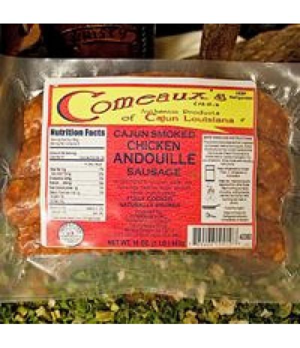 Comeaux's Chicken Andouille 1lb
