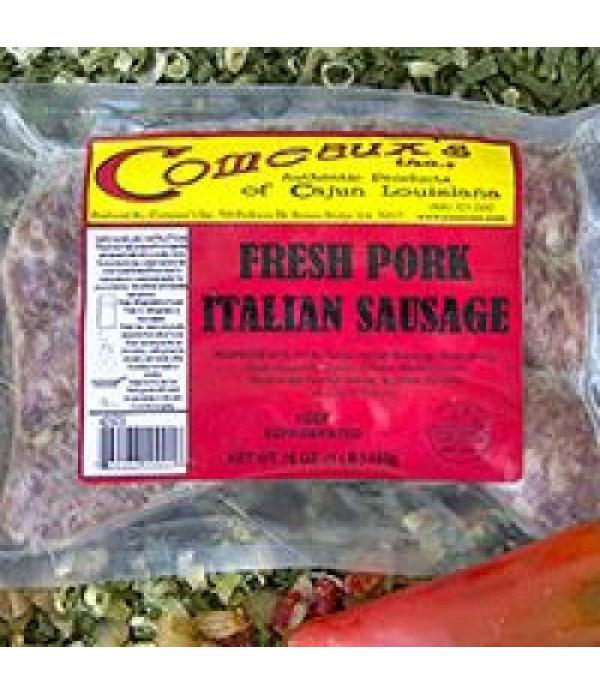 Comeaux's Pork Italian Sausage 1lb