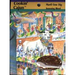 Cookin' Cajun Mardi Gras Dip 1.2oz