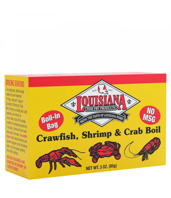 Louisiana Fish Fry Crab Boil Seed Bag 3oz