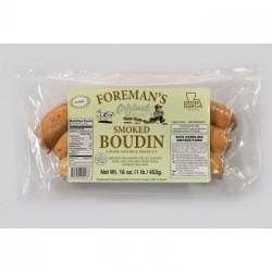 Foreman's Smoked Boudin 1lb