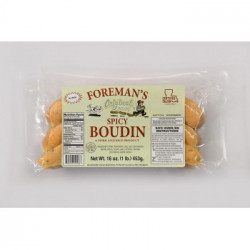 Foreman's Spicy Boudin 1lb