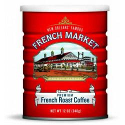 French Market French Roast Medium/Dark Blend Red C...