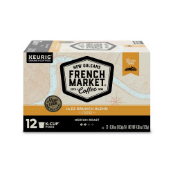 French Market Jazz Brunch Blend Med Roast Single S...