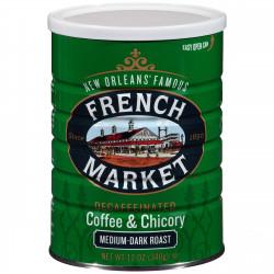 French Market Medium Dark C&C Decaf Green Can ...