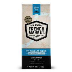 French Market St. Charles Whole Bean Dark Roast Ba...