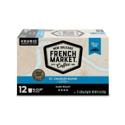French Market St. Charles Blend Dark Roast Single ...