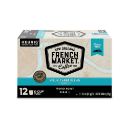 French Market Vieux Carre Blend French Roast Singl...