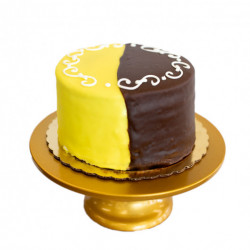 Gambino's Chocolate & Lemon Doberge Cake