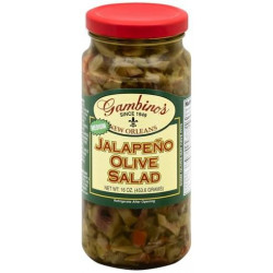 Gambino's Jalapeno Italian Olive Salad 16oz
