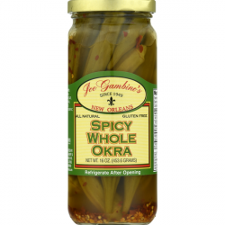 Gambino's Spicy Whole Okra 16oz
