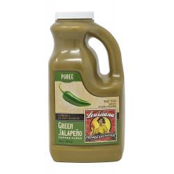Green Jalapeno Pepper Puree 64oz Louisiana Pepper ...