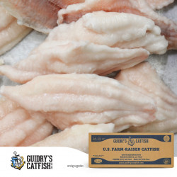 Guidry's Catfish Fillets 5-7oz 15lb