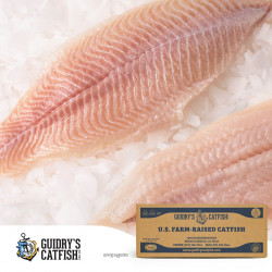 Guidry's Catfish Fillets 3-5oz 15lb
