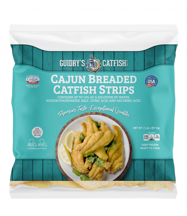 Guidry's Breaded Catfish Strips 2lb