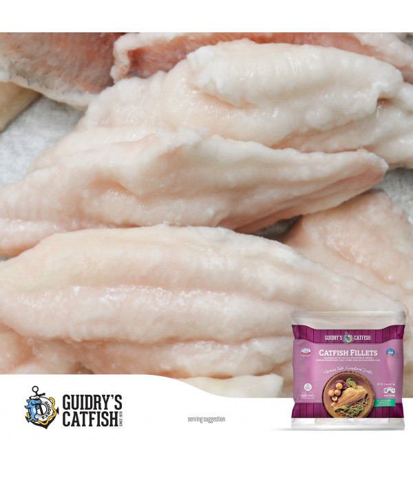 Guidry's Catfish Fillets 3-7oz 2lb