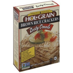 Hol Grain Rice Crackers Zesty Creole 4.5oz