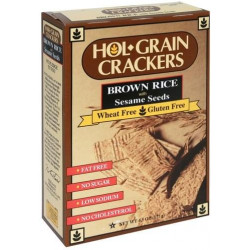 Hol Grain Rice Crackers w/ Sesame Seeds 4.5oz