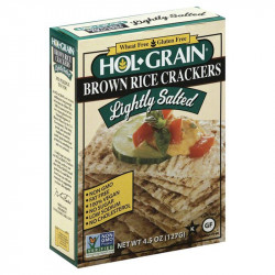Hol Grain Salted Rice Crackers 4.5oz