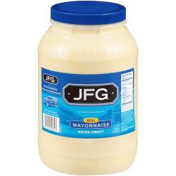 JFG Regular Mayonnaise Extra Heavy 128oz
