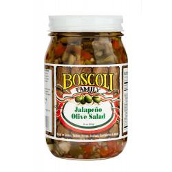 Boscoli Jalapeno Olive Salad 15.5oz
