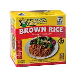 Jambalaya Girl Seasoned Brown Rice Blend 8 oz 4pk