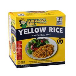 Jambalaya Girl Yellow Rice 8 oz 4pk
