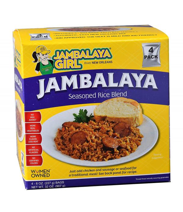 Jambalaya Girl Jambalaya 8 oz 4pk