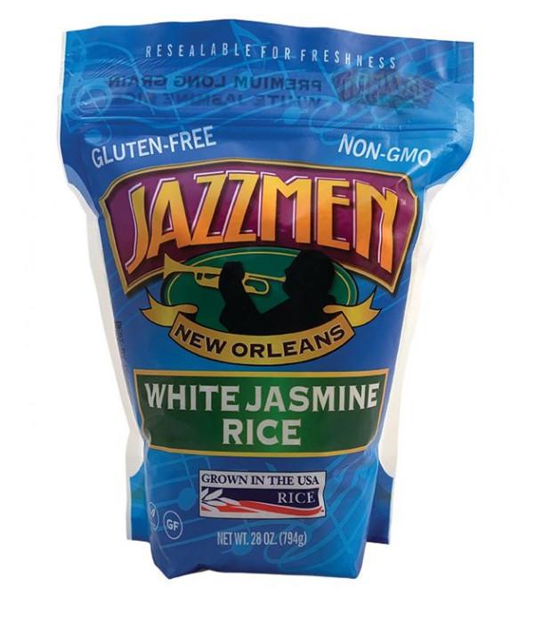 Jazzmen White Rice 28oz