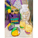 Social Distancing Mini King Cake Box