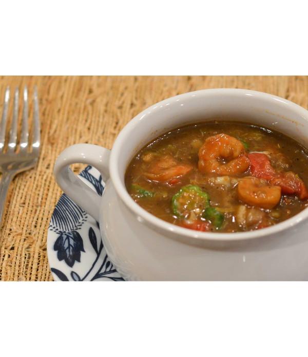 King Creole Seafood Gumbo 4lb