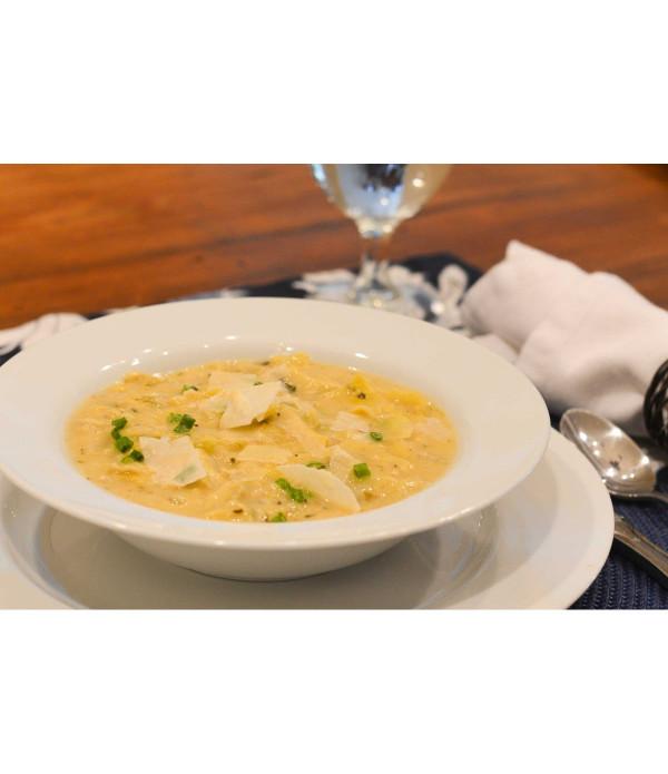 King Creole Stuffed Artichoke Soup