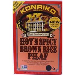 Konriko HOT N SPICY BROWN RICE PILAF 7.5 oz
