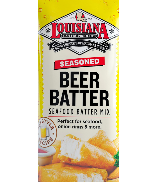 Louisiana Fish Fry Beer Batter Mix 50 lb