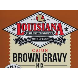 Louisiana Fish Fry Brown Gravy Mix 10lb