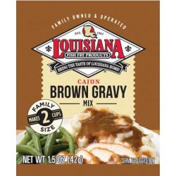 Louisiana Fish Fry Brown Gravy Mix 1.5oz