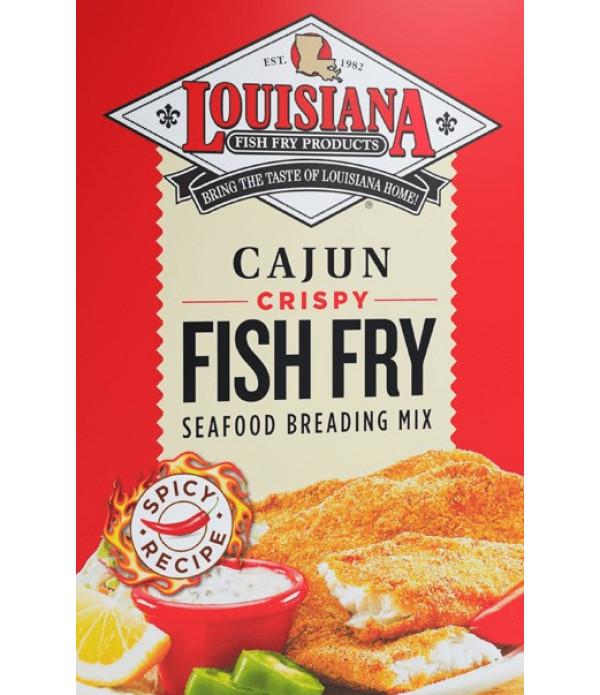 Louisiana Fish Fry Cajun Fry 25 lb