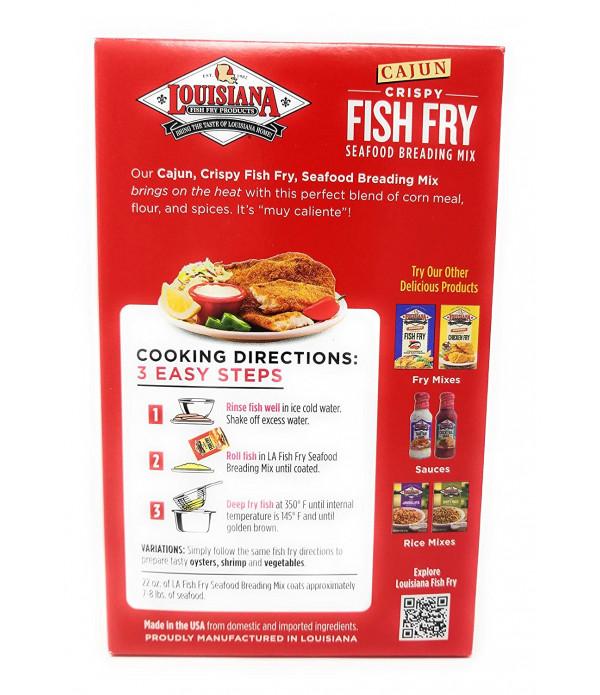 Louisiana Fish Fry Cajun Fry 22oz