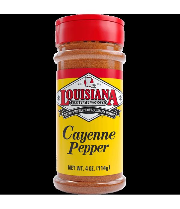 Louisiana Fish Fry Cayenne Pepper 4oz