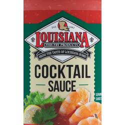 Louisiana Fish Fry Cocktail Sauce Gallon