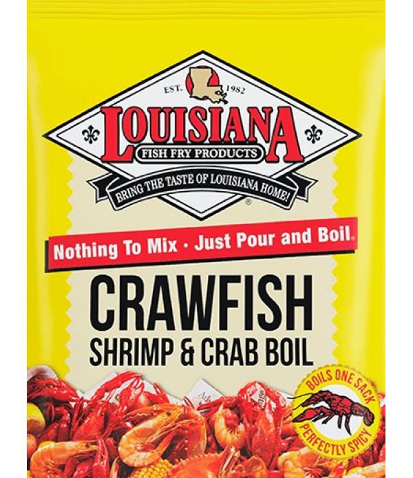 Louisiana Fish Fry Crab Boil 50 lb