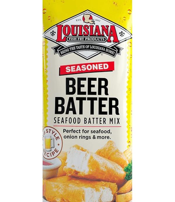 Louisiana Fish Fry Beer Batter Mix 25 lb