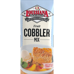 Louisiana Fish Fry Fruit Cobbler Mix 10lb