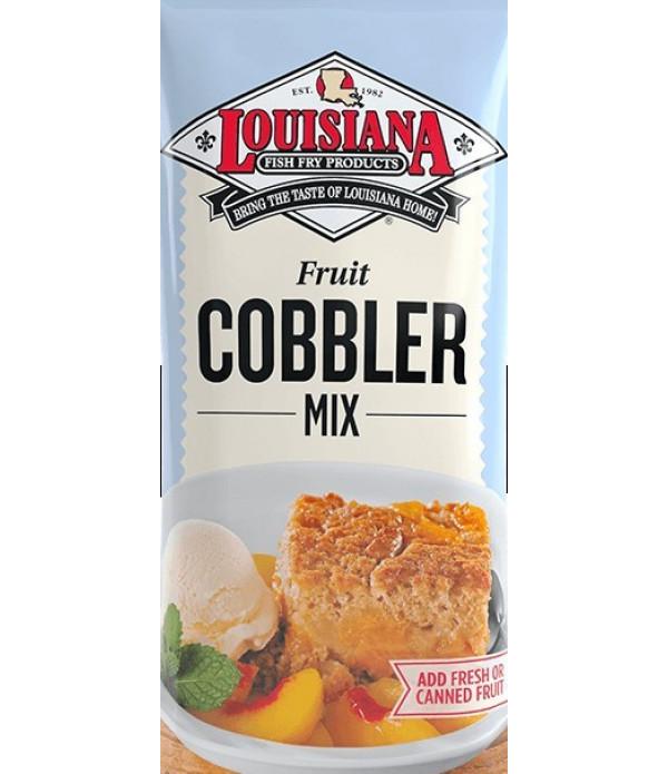 Louisiana Fish Fry Cobbler Mix 10 lb