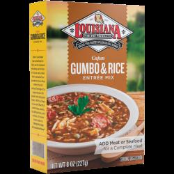 Louisiana Fish Fry Gumbo w/Rice Mix 8oz