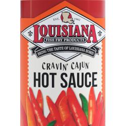 Louisiana Fish Fry Cravin Cajun Hot Sauce Gallon