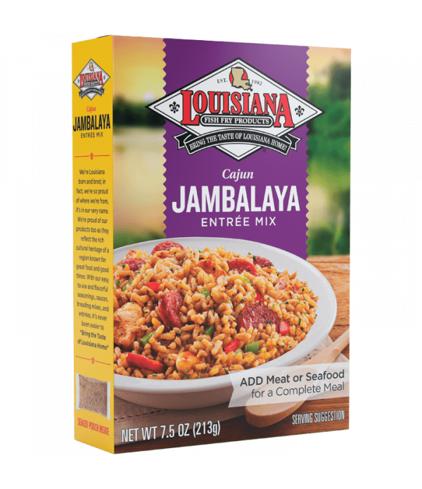 Louisiana Fish Fry  Jambalaya Mix 7.5oz