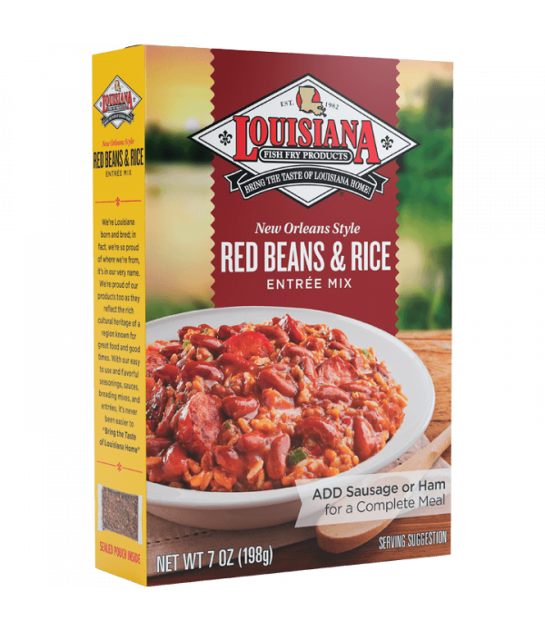 Louisiana Fish Fry Red Beans & Rice Mix 7 oz