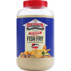 Louisiana Fish Fry Seasoned Fish Fry Gallon